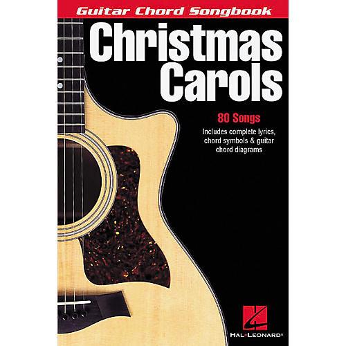 Hal Leonard Christmas Carols Guitar Chord Songbook