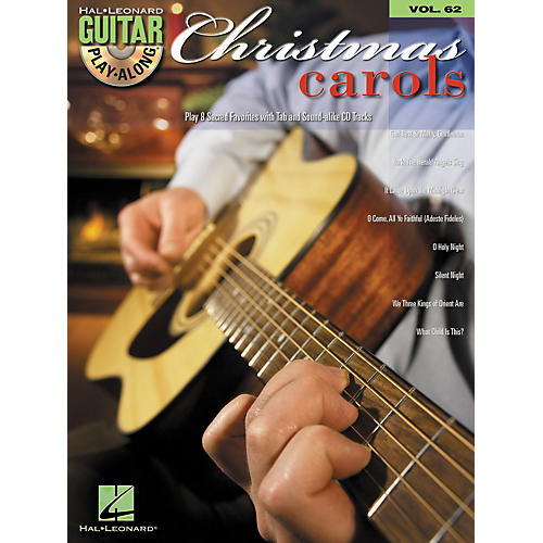 Hal Leonard Christmas Carols Guitar Play-Along Volume 62 Book/CD Set