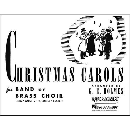 Hal Leonard Christmas Carols for Band Or Brass Choir Baritone Saxophone