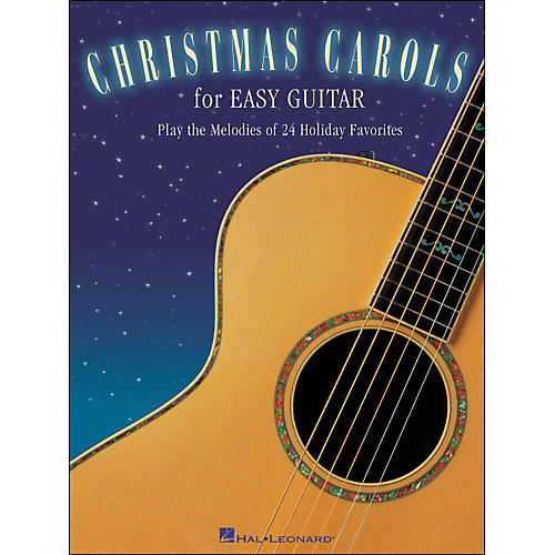 Hal Leonard Christmas Carols for Easy Guitar (No Tab)-thumbnail