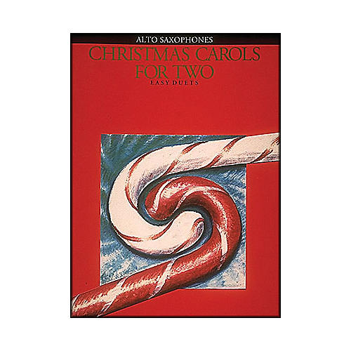 Hal Leonard Christmas Carols for Two Alto Saxophone-thumbnail