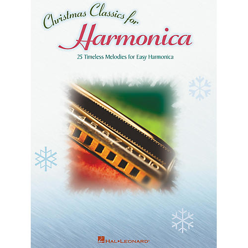 Hal Leonard Christmas Classics 25 Timeless Melodies for Easy Harmonica-thumbnail