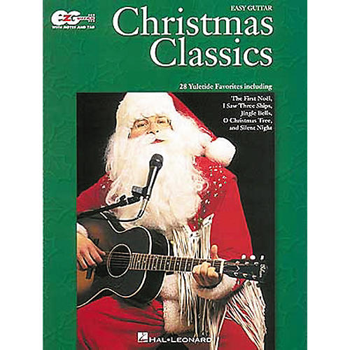 Hal Leonard Christmas Classics Easy Guitar Tab Songbook