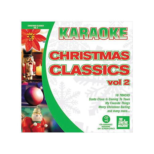 The Singing Machine Christmas Classics Volume 2 Karaoke CD+G