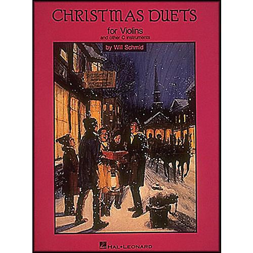 Hal Leonard Christmas Duets for Violin And Other C Instruments-thumbnail