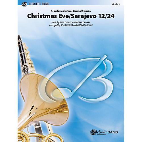 Alfred Christmas Eve/Sarajevo 12/24 Concert Band Grade 3 Set