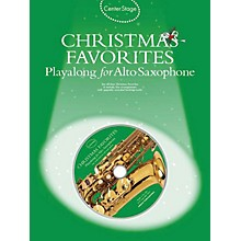 Music Sales Christmas Favorites - Playalong for Alto Sax Music Sales America Series Book with CD