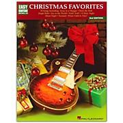 Hal Leonard Christmas Favorites 2nd Edition Easy Guitar Tab Songbook