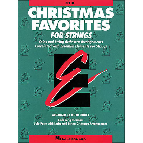 Hal Leonard Christmas Favorites Cello Essential Elements-thumbnail
