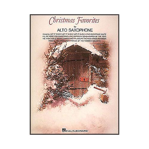 Hal Leonard Christmas Favorites for Alto Saxophone