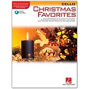 Hal Leonard Christmas Favorites for Cello Book/CD Instrumental Play-Along