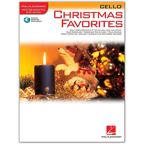 Hal Leonard Christmas Favorites for Cello Book/Online Audio Instrumental Play-Along-thumbnail