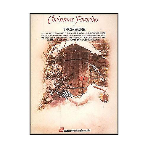 Hal Leonard Christmas Favorites for Trombone-thumbnail