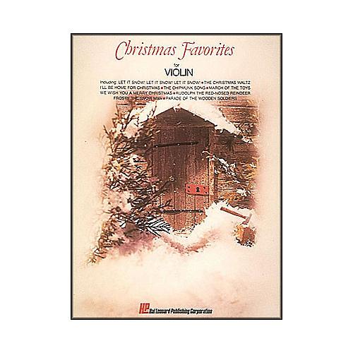 Hal Leonard Christmas Favorites for Violin-thumbnail