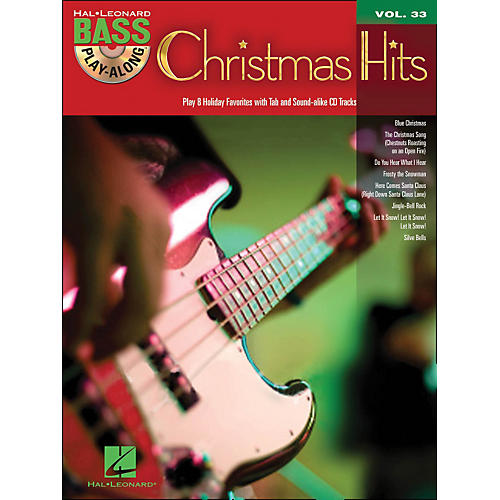 Hal Leonard Christmas Hits - Bass Play-Along Volume 33 Book/CD-thumbnail