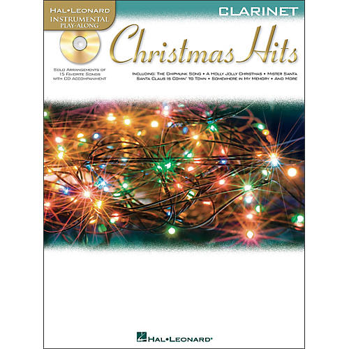 Hal Leonard Christmas Hits for Clarinet - Instrumental Play-Along Book/CD Pkg