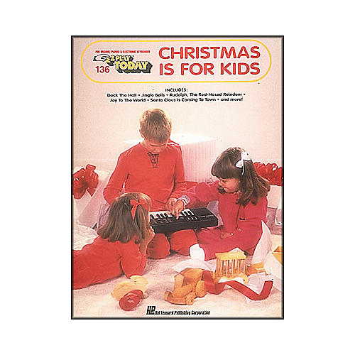 Hal Leonard Christmas Is for Kids E-Z Play 136