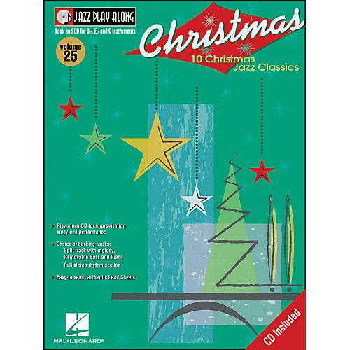Hal Leonard Christmas Jazz - Jazz Play-Along Book/CD Volume 25