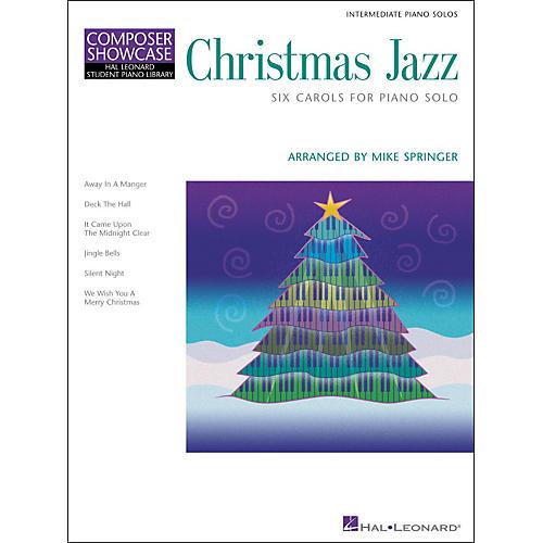 Hal Leonard Christmas Jazz Six Carols Intermediate Piano Solos Composer Showcase Hal Leonard Student Piano Library-thumbnail
