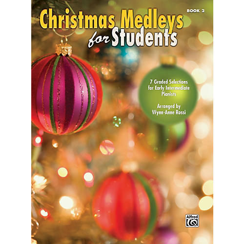 Alfred Christmas Medleys for Students Book 2-thumbnail