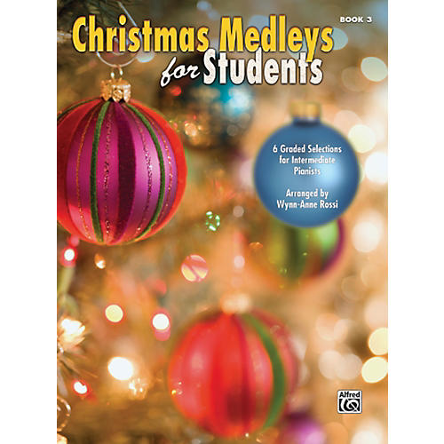 Alfred Christmas Medleys for Students Book 3-thumbnail