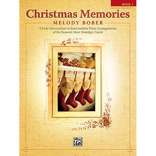 Alfred Christmas Memories Piano Book 1-thumbnail