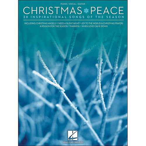 Hal Leonard Christmas Peace - 30 Inspirational Songs Of The Season arranged for piano, vocal, and guitar (P/V/G)