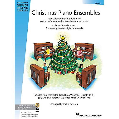 Hal Leonard Christmas Piano Ensembles - Level 1 Book Piano Library Series (Level Early Elem)