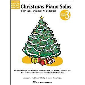 Hal Leonard Christmas Piano Solos Book 3 Hal Leonard Student Piano Library by Hal Leonard