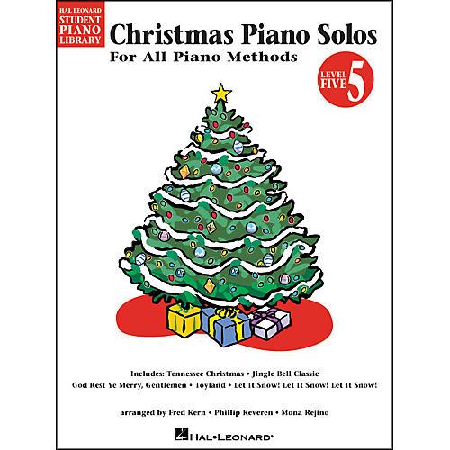 Hal Leonard Christmas Piano Solos Book 5 Hal Leonard Student Piano Library