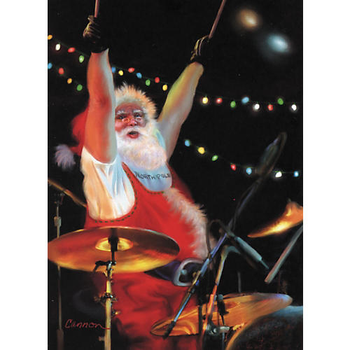 Art Strings Christmas Rocks Greeting Card 10-Pack-thumbnail
