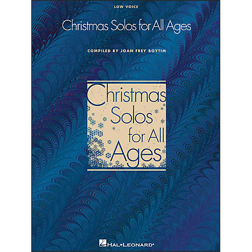 Hal Leonard Christmas Solos for All Ages - Low Voice