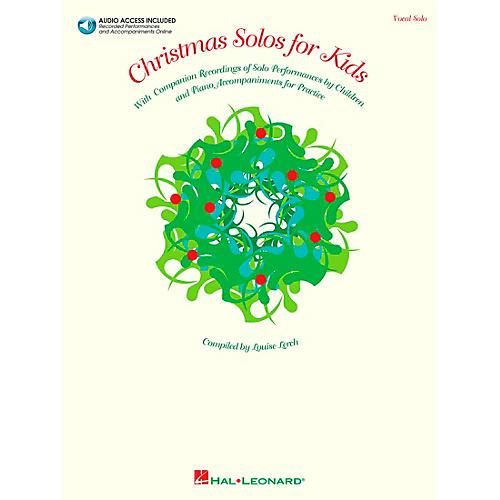 Hal Leonard Christmas Solos for Kids Book/CD