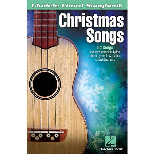 Hal Leonard Christmas Songs Ukulele Chord Songbook-thumbnail