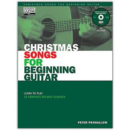 String Letter Publishing Christmas Songs for Beginning Guitar (Book/Online Audio)-thumbnail