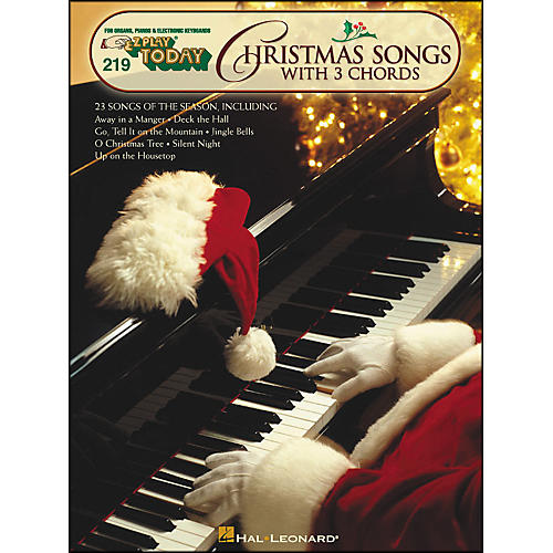 Hal Leonard Christmas Songs with 3 Chords E-Z Play 219-thumbnail