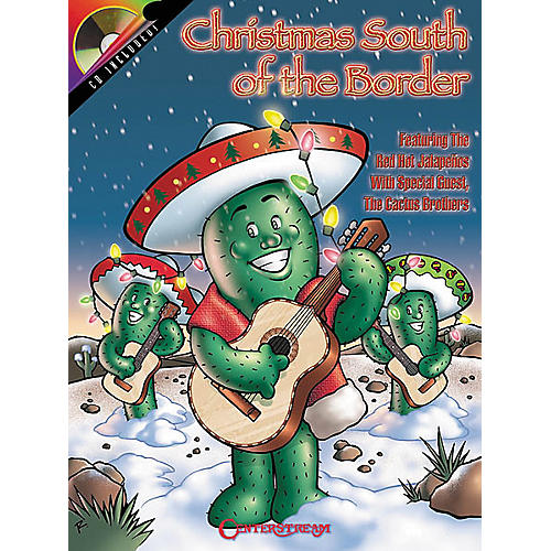 Centerstream Publishing Christmas South of the Border Guitar Tab Songbook with CD-thumbnail