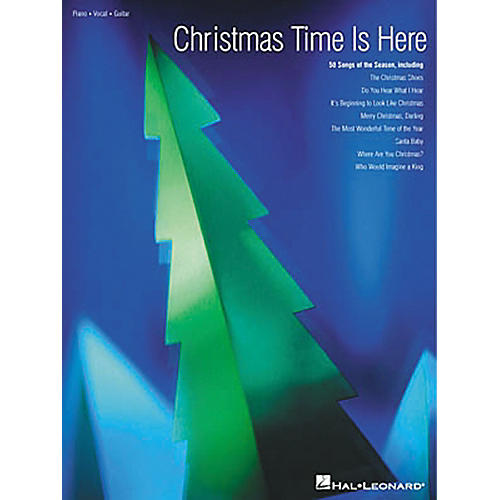 Hal Leonard Christmas Time Is Here Piano, Vocal, Guitar Songbook
