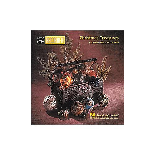 Hal Leonard Christmas Treasures for Recorder