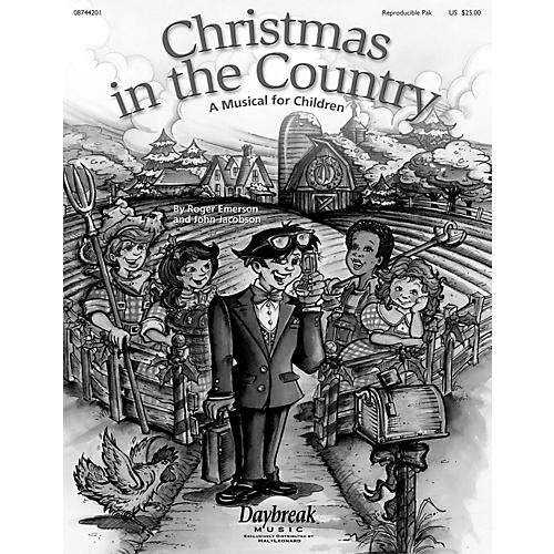 Daybreak Music Christmas in the Country REPRO PAK composed by Roger Emerson