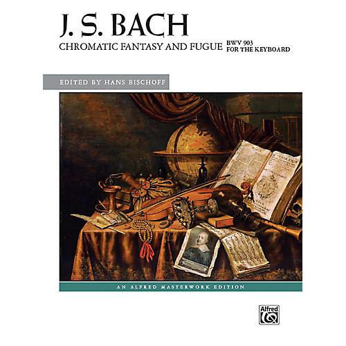 Alfred Chromatic Fantasy and Fugue, BWV 903 - Advanced-thumbnail
