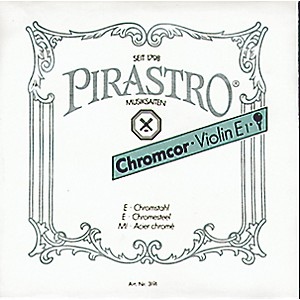 Pirastro Chromcor Series Violin String Set by Pirastro