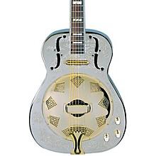 Dean Chrome G Acoustic-Electric Resonator Guitar Level 1 Chrome/Gold