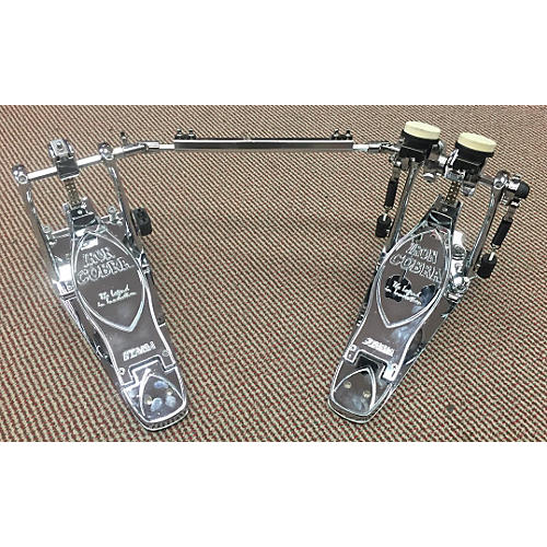 Tama Chrome Iron Cobra Double Bass Drum Pedal