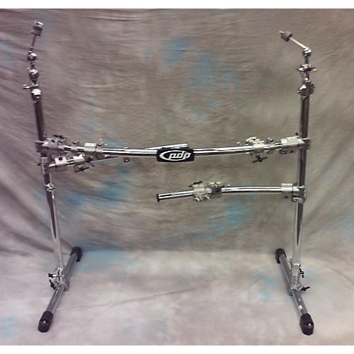 PDP Chrome Plated Drum And Cymbal Rack Drum Rack