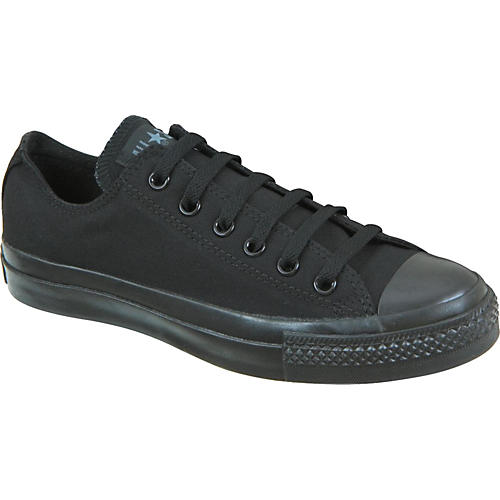 Converse Chuck Taylor All Star Core Oxford Low-Top Black Mono Men's Size 9