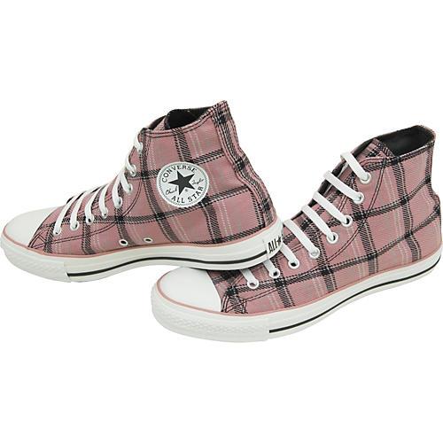 Converse Chuck Taylor All Star Grunge Plaid Hi Top Shoe-thumbnail