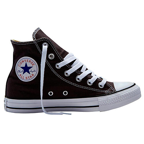 Converse Chuck Taylor All Star Hi Top Dusk Grey Charcoal 10.5