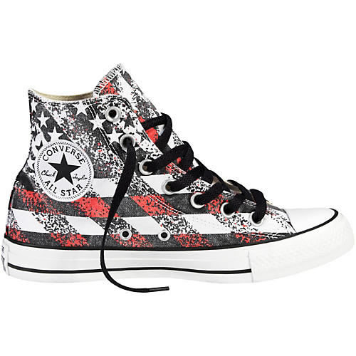Converse Chuck Taylor All Star Hi-Top Washed Flag Print-thumbnail