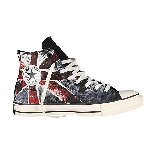 Converse Chuck Taylor All Star High-Top Black/Chili Pepper/Vintage Indigo Flag